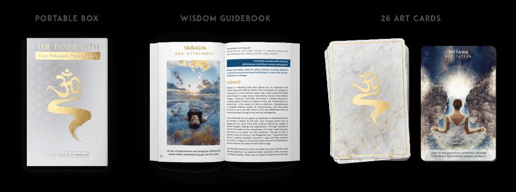 Inner Path Deck unboxing - Yoga Philosophy Tarot Card Deck =