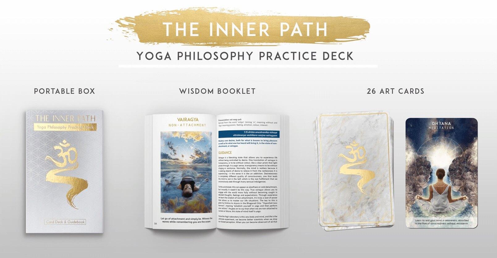 Inner Path Yoga Philosophy Practice Deck